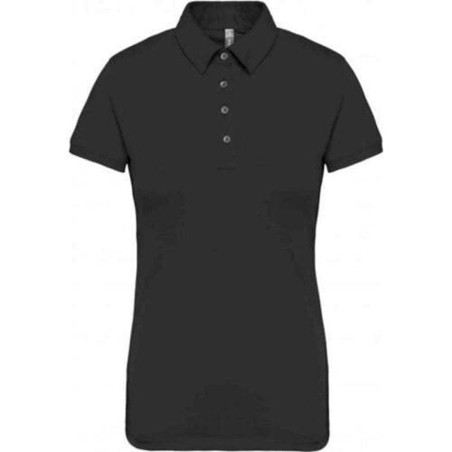 LADIES' SHORT SLEEVE JERSEY POLO SHIRT
