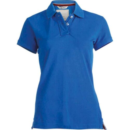 LADIES' SHORT SLEEVE PIQUE POLO SHIRT KARIBAN VINTAGE