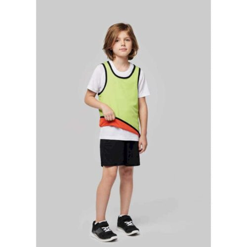 KID'S REVERSIBLE RUGBY BIB