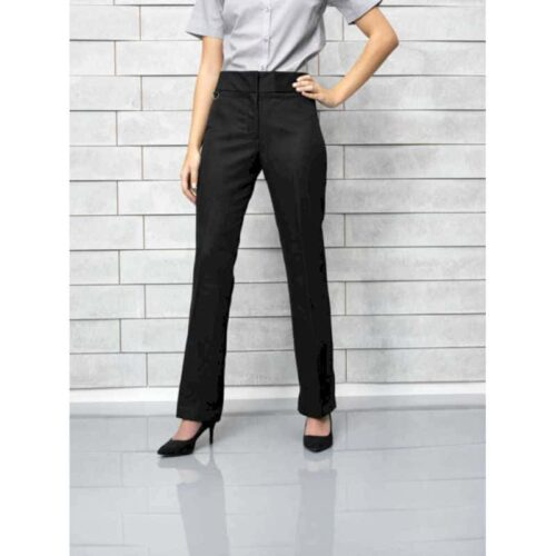 EXTRA LONG LADIES FLAT FRONT HOSPITALITY TROUSER