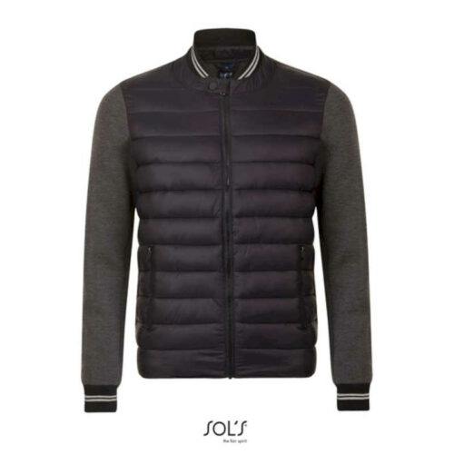 VOLCANO UNISEX TWO-MATERIAL JACKET