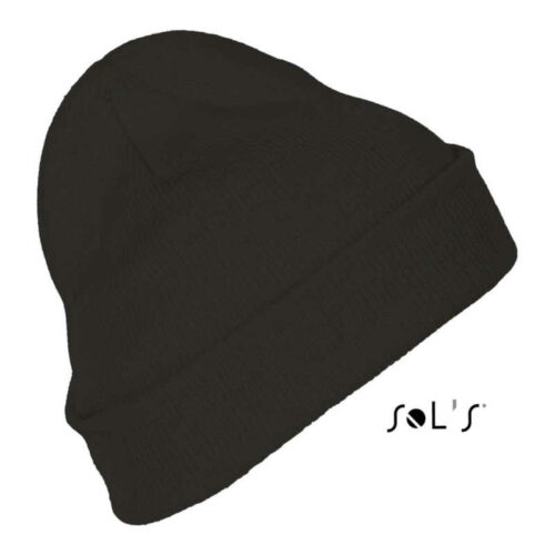 PITTSBURGH SOLID-COLOUR BEANIE WITH CUFFED DESIGN