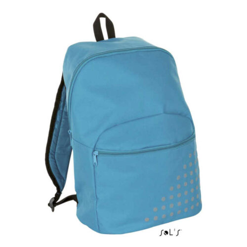 COSMO 600D POLYESTER BACKPACK WITH REFLECTIVE DETAIL