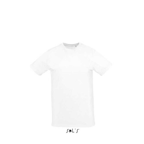 SUBLIMA ROUND COLLAR TEE-SHIRT FOR SUBLIMATION