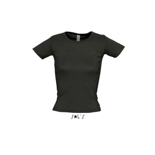 LADY O WOMEN'S ROUND COLLAR T-SHIRT
