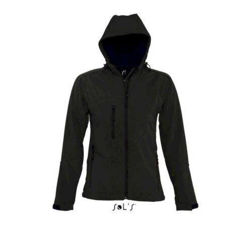 REPLAY WOMEN'S HOODED SOFTSHELL